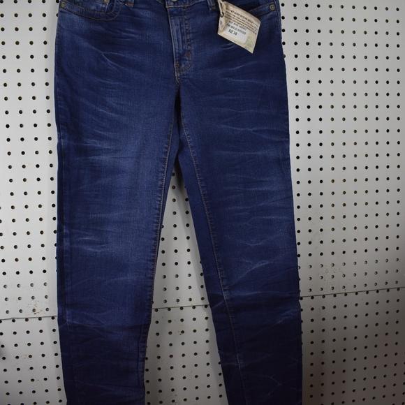 a4b3bd81873 M2F Jeans | Skinny Jean Wild Indigo Fusion Wash Sz 30 Nwt | Poshmark